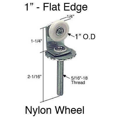 Pocket Door Rollers >> Pocket Door Roller Assembly Top 1 Inch Single Wheel
