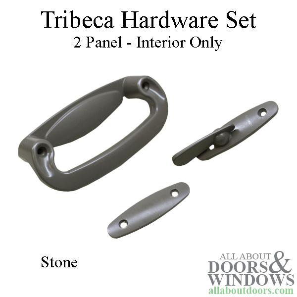 Andersen Frenchwood Gliding 2 Panel Door Tribeca Interior