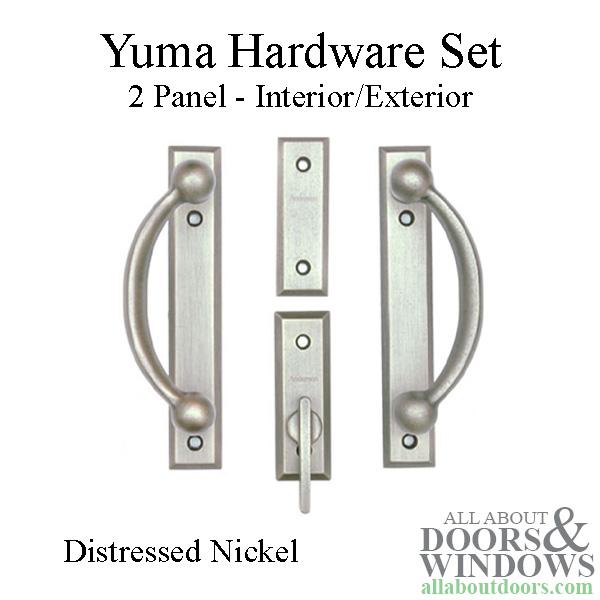 Andersen Frenchwood Gliding Door Trim Yuma 2 Panel