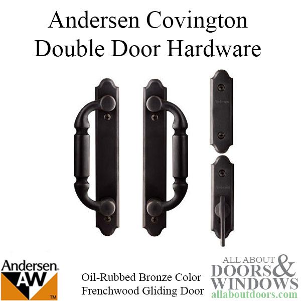 Andersen Frenchwood Gliding Door Trim Covington 4 Panel