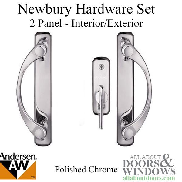 Andersen Sliding Door Handle And Lock Newbury Style