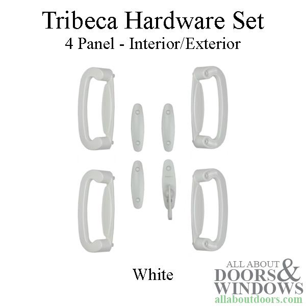 Andersen Frenchwood Gliding Door Trim Hardware Tribeca