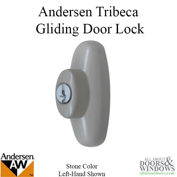 Andersen Left Hand Exterior Tribeca Lock With Keys For