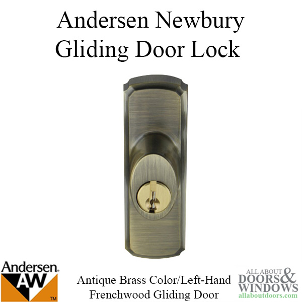 Andersen Window Frenchwood Gliding Door Hardware Lh
