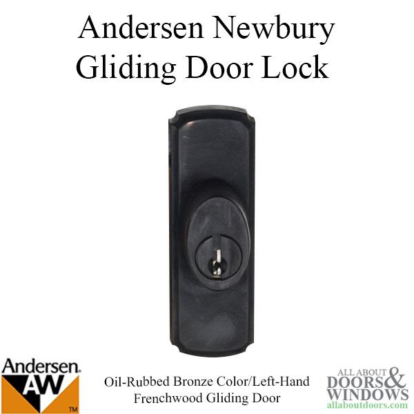 Andersen Frenchwood Gliding Door Hardware Newbury Lock