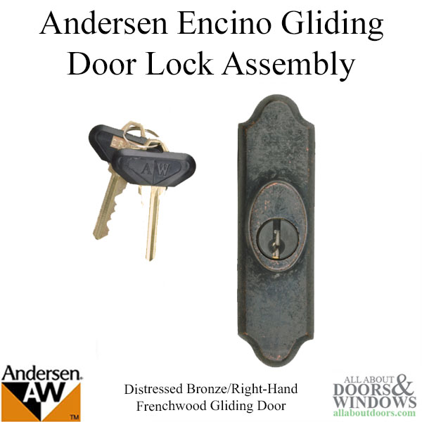 Andersen Window Frenchwood Gliding Door Lock Assembly