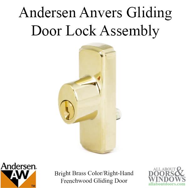 Key Locks Cylinders For Andersen Sliding Patio Doors