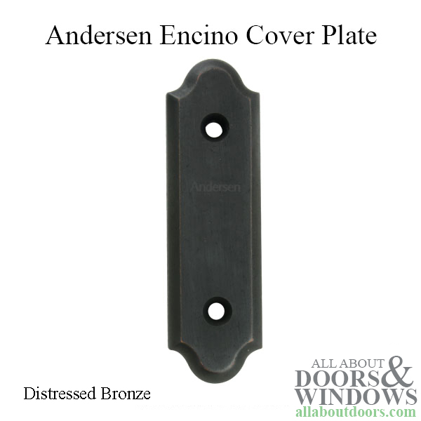 Andersen Frenchwood Gliding Doors Cover Plate Encino