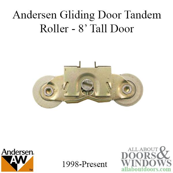 Andersen Window Frenchwood Gliding Door Tandem Roller
