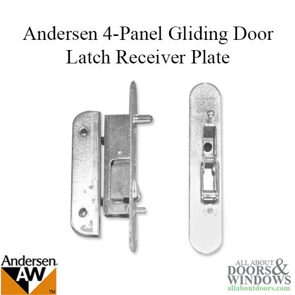 Latch Receiver, Andersen 4 Panel, REACHOUT LOCK on