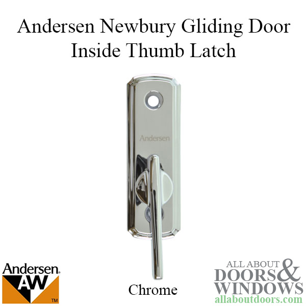 Andersen Frenchwood Gliding Door Thumb Latch Newbury