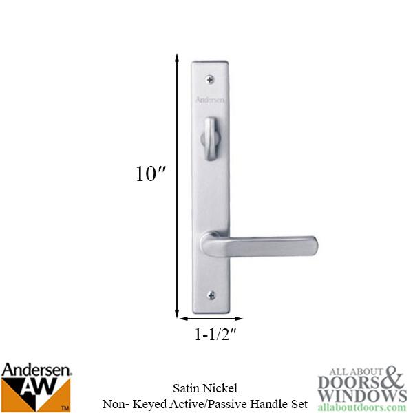 Hardware Kit Double Door Anvers Active Passive