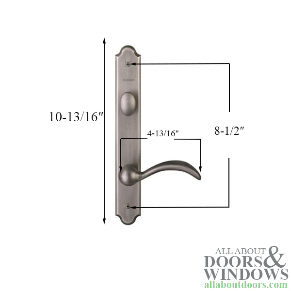 Hardware Kit Single Door Encino Active Door