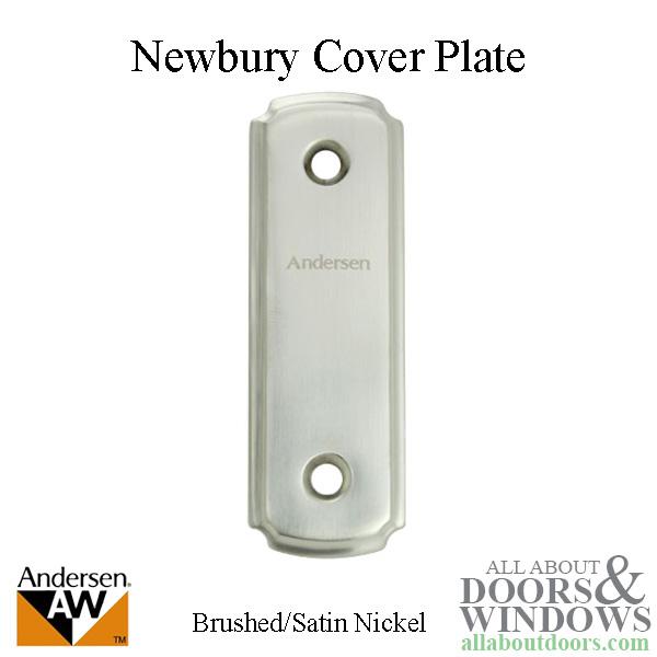 Andersen Frenchwood Gliding Door Cover Plate W Screws