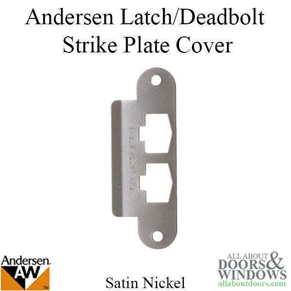 Andersen Latch Amp Deadbolt Strike Plate Cover As Sa Single