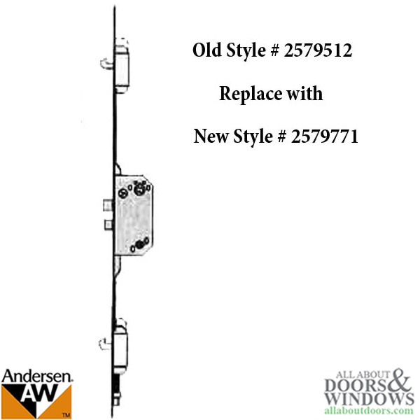 Unavailable Andersen Multipoint Lock Fwh68 Active Door