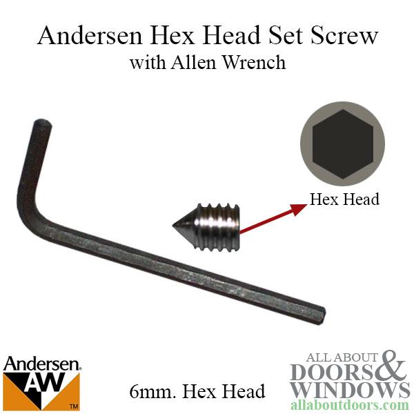 Allen Wrench Door Key 6mm Hex Wrench All About Doors