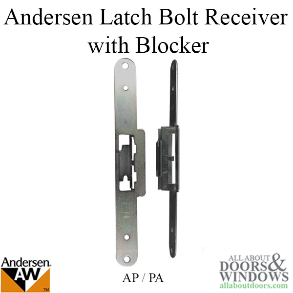 Latch Bolt Receiver With Blocker Fwh Ap Pa