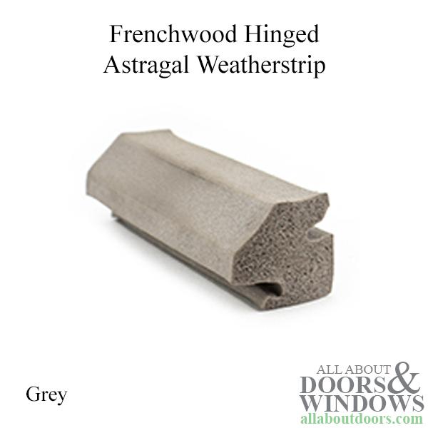 Astragal Weatherstrip Head Foam Neoprene Sponge French