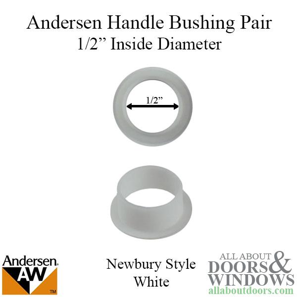 Bushing 1 2 Diameter Handle Andersen Newbury Series White