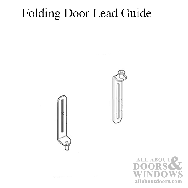Wood Bifold Door Guides Closet Door Guides