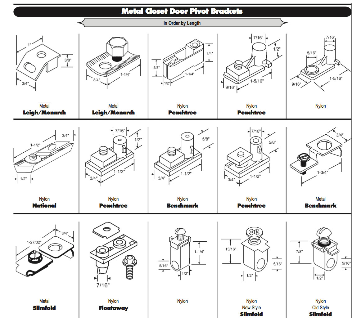 Peachtree Pivot Block Metal Bi Fold Door White