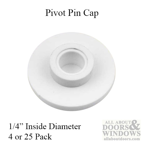 Nylon Acme Pin Cap Or Guide With 1 4 Inch Inner Diameter