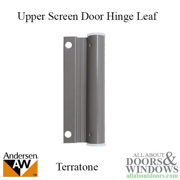 Upper Screen Door Hinge Leaf Terratone