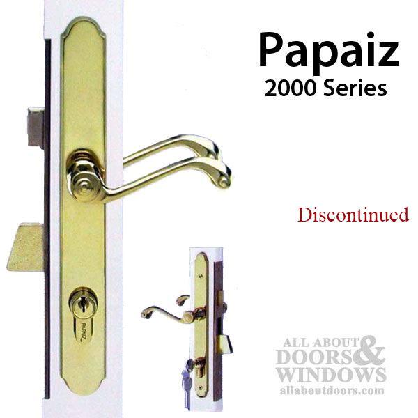 Unavail Papaiz 2000 Series Storm Door Lock Replacement