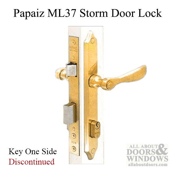 Unavail Papaiz Ml37 Storm Door Lock Replacement Avail