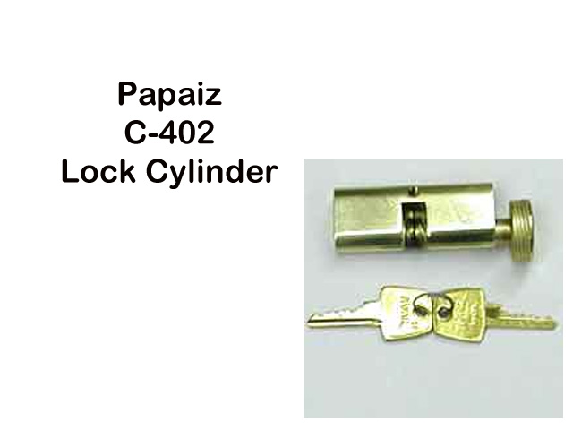 Unavailable Storm Door Papaiz Mortise Lock Cylinder