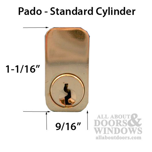Pado Mortise Lock Cylinder Key Both Sides See Notes