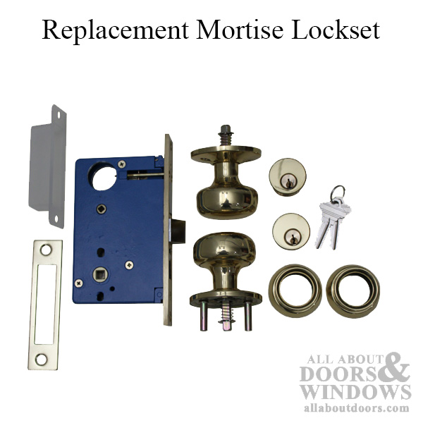 Discontinued Mortise Lock Set Replacement For Marks