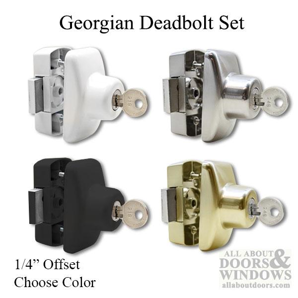 deadbolt locks storm door