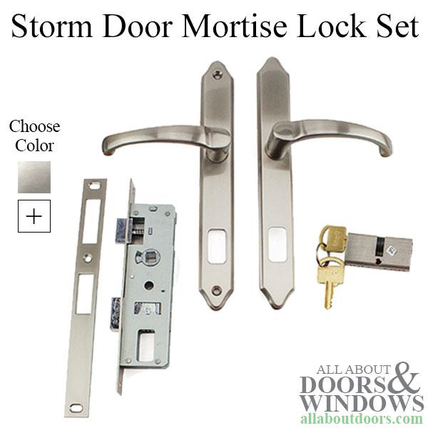 Mortise Lock Storm Door Hardware Double Key