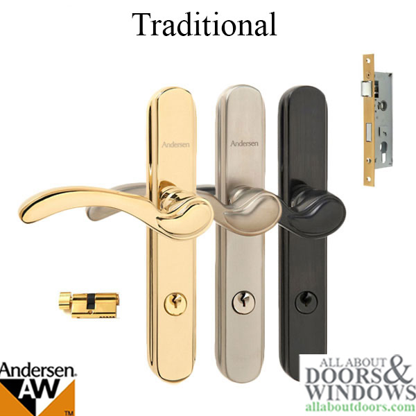 Andersen Traditional Storm Door Hardware Choose Finish