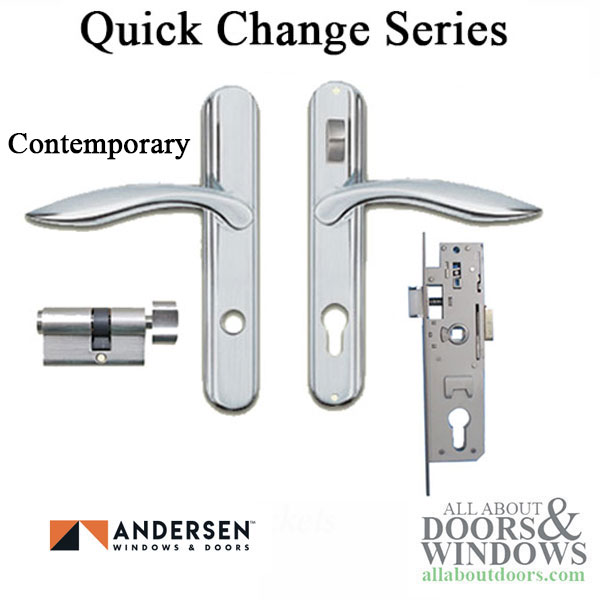 Andersen Storm Door Hardware W Lock Bar Choose Finish