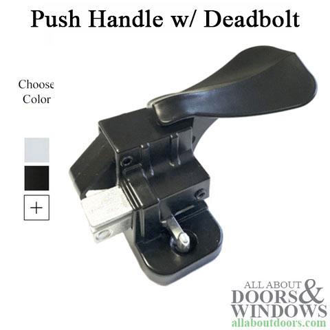 Surface Mounted Inside Handles Storm Door