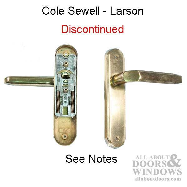 Main on Larson Storm Door Handle Parts