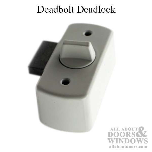 119 High Profile Deadbolt Deadlock W Screws Inside