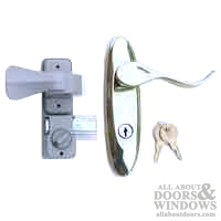 Larson Surface Mount Handle With Deadbolt Discontinued
