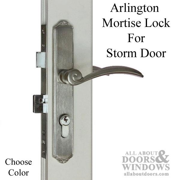 Door Mortise Lock Handle Sets Storm Door
