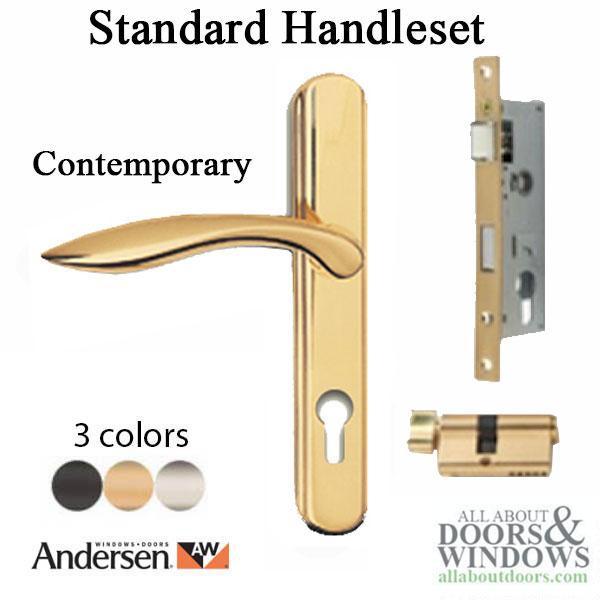 Andersen Storm Door Mortise Locksets, Handlesets   Door Parts