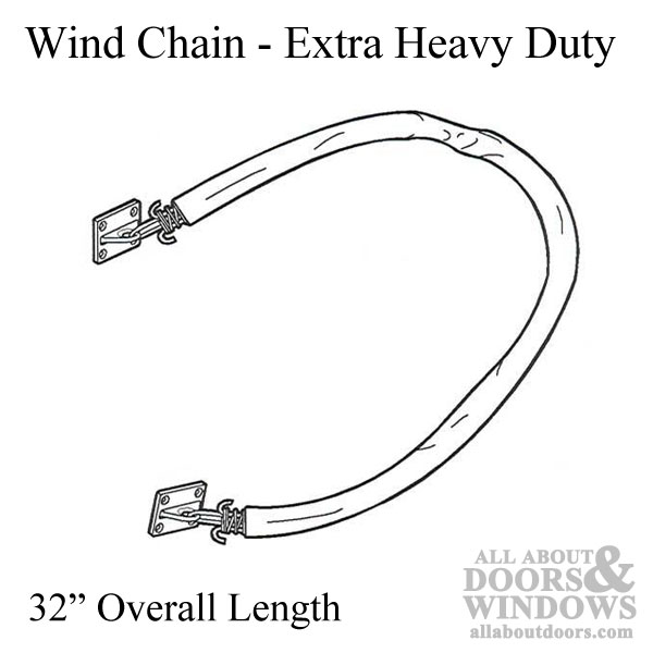 Wind Chain Extra Heavy Duty Commercial Doors