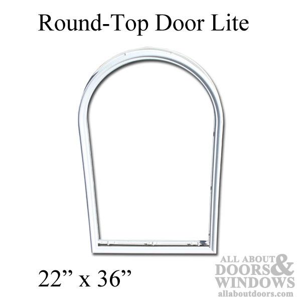 Therma Tru 22 X 36 Round Top Surround No Glass