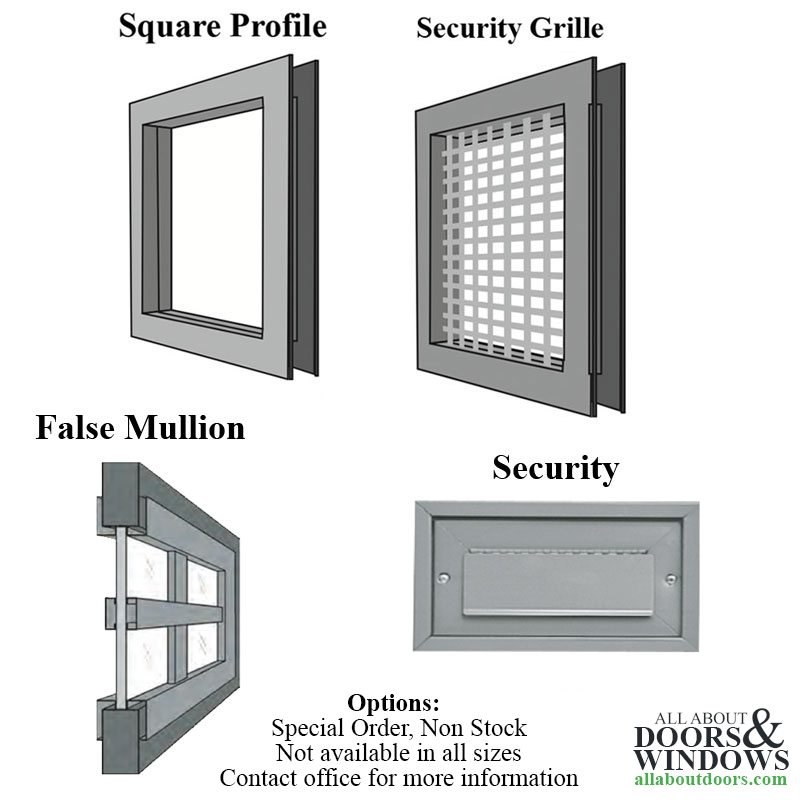 Commercial Door Light 12 Quot X 12 Quot Wired Glass Choose Color