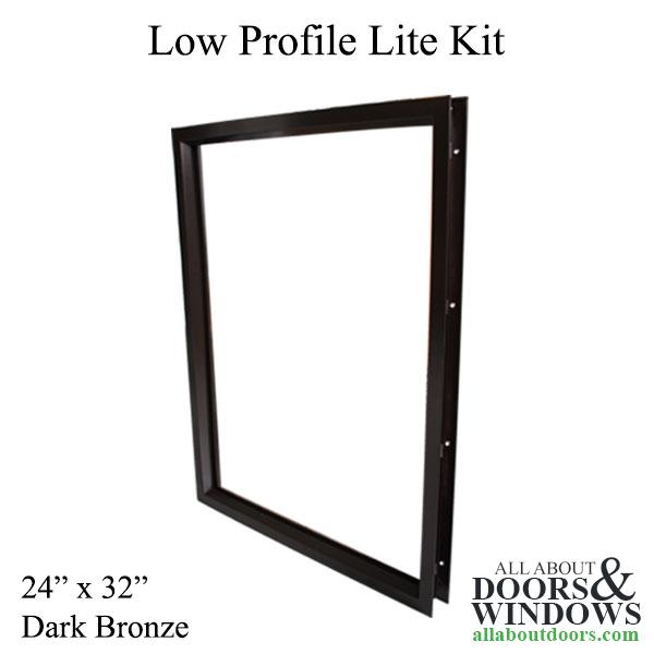 Commercial Door Lite Frames 24 X 32 Low Profile Metal Screw