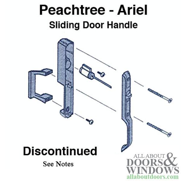 Peachtree Ariel Sliding Door Handle Set See Notes
