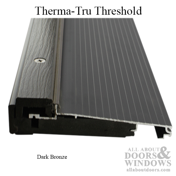 Threshold Adjustable Cap 36 X 4 9 16 Quot Wall Dark Bronze