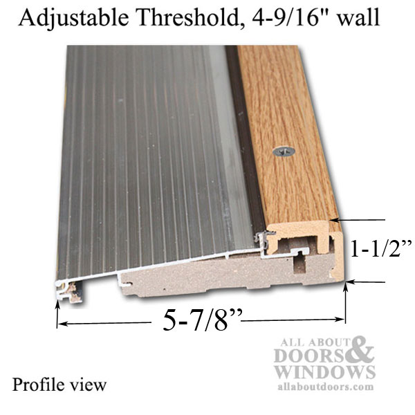 Anderson Patio Doors >> Adjustable Door Threshold | Adjustable Threshold | All ...